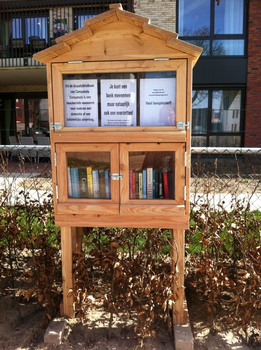 Prachtige straatbibliotheek van start!