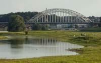 Vier rijstroken open tijdens renovatie Waalbrug Nijmegen
