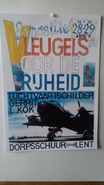 Expositie 'Vleugels voor de vrijheid'