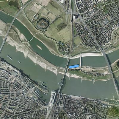 Deel Spiegelwaal Nijmegen officieel zwemwater