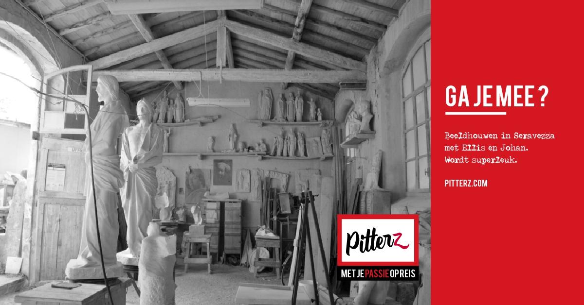 Ga je mee beeldhouwen in Seravezza – Italië